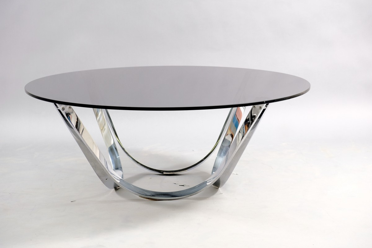 Mid-Century Coffee Table by Werner Lindner for Bacher, 1960s