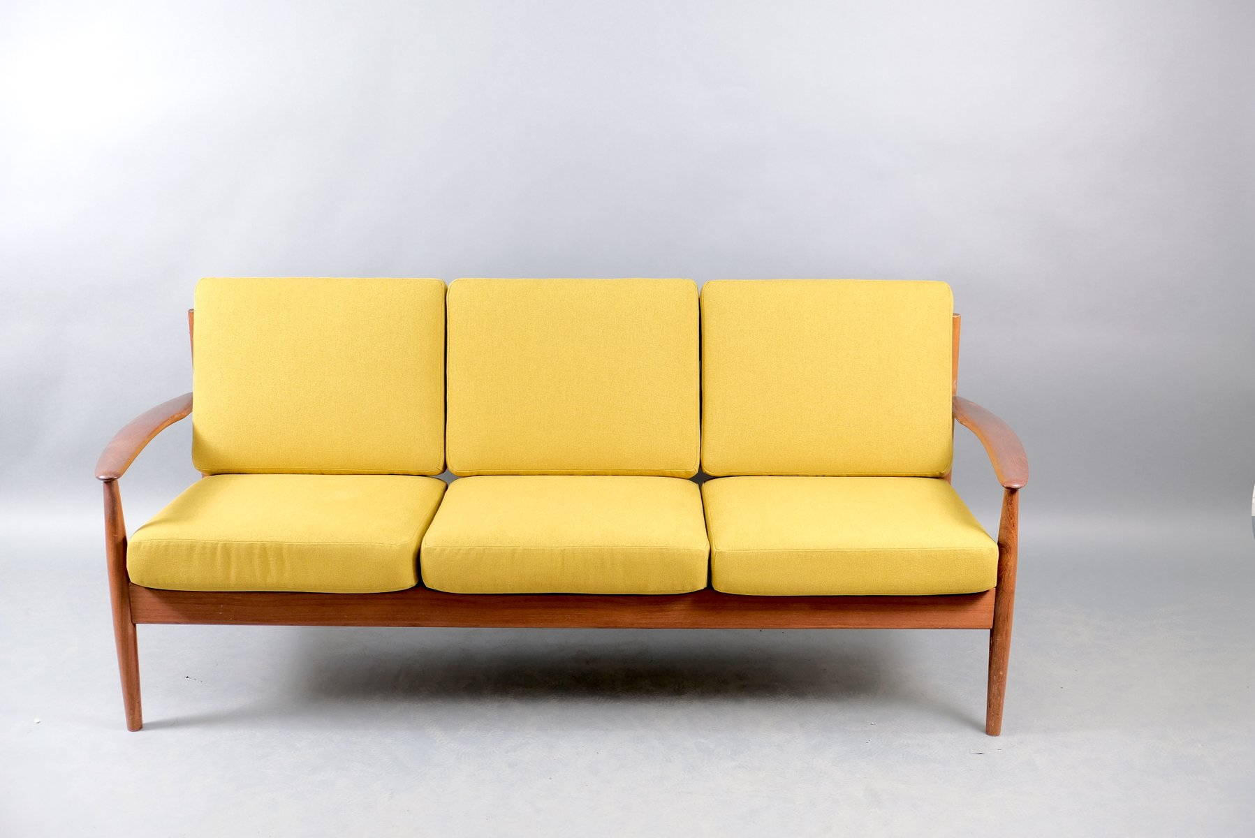 Mid-Century Danish Teak Sofa by Grete Jalk for France & Søn / France & Daverkosen