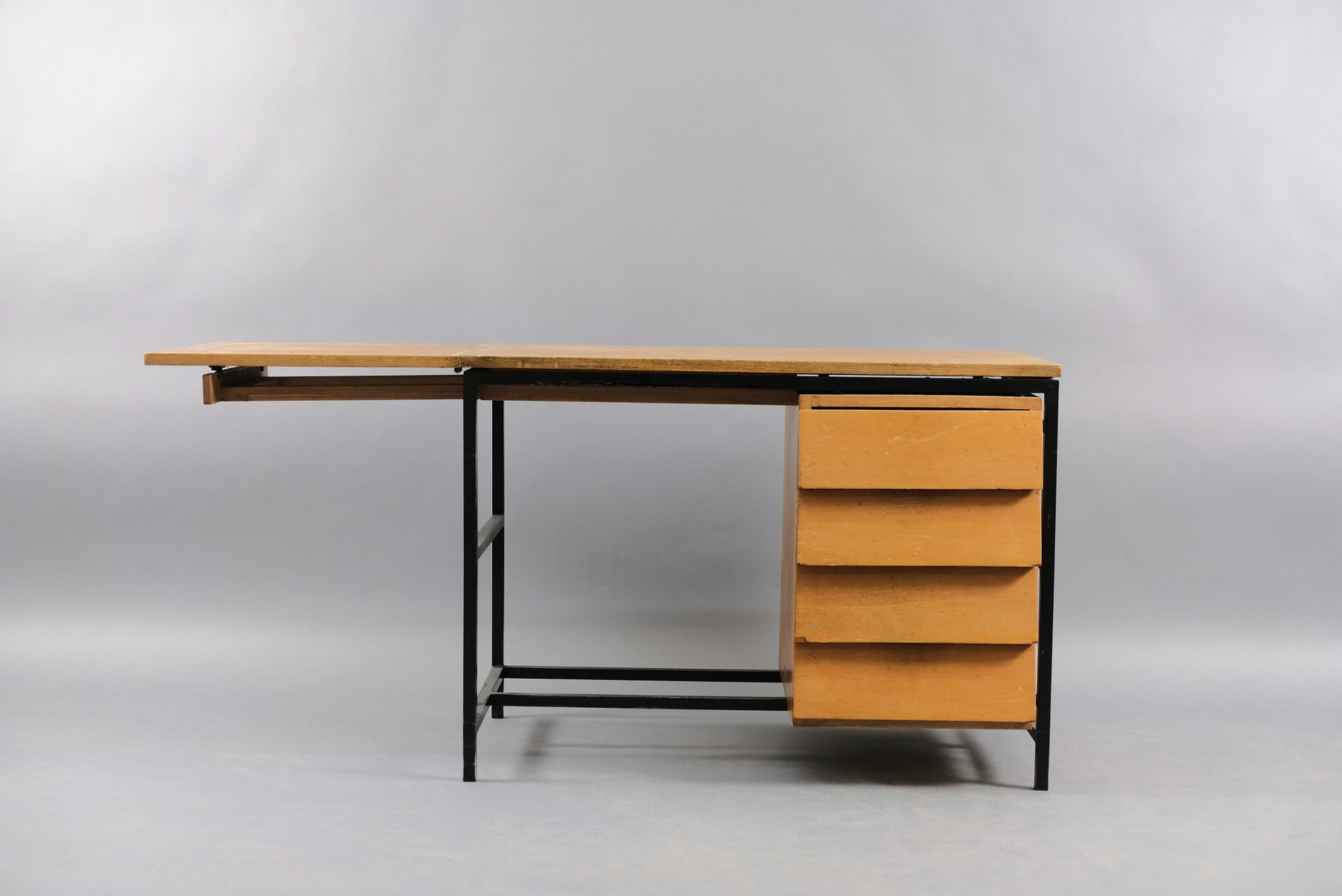 Mid-Century German Architects Folding Desk, 1960s