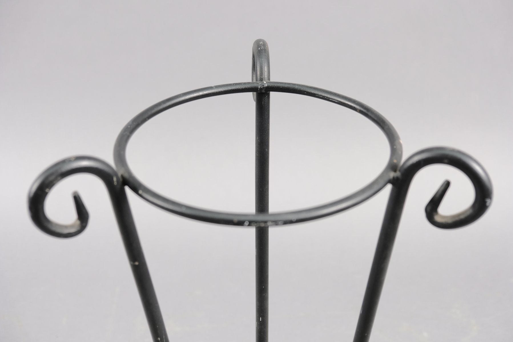 Mid-Century German Umbrella Stand with Gooseneck, 1960s