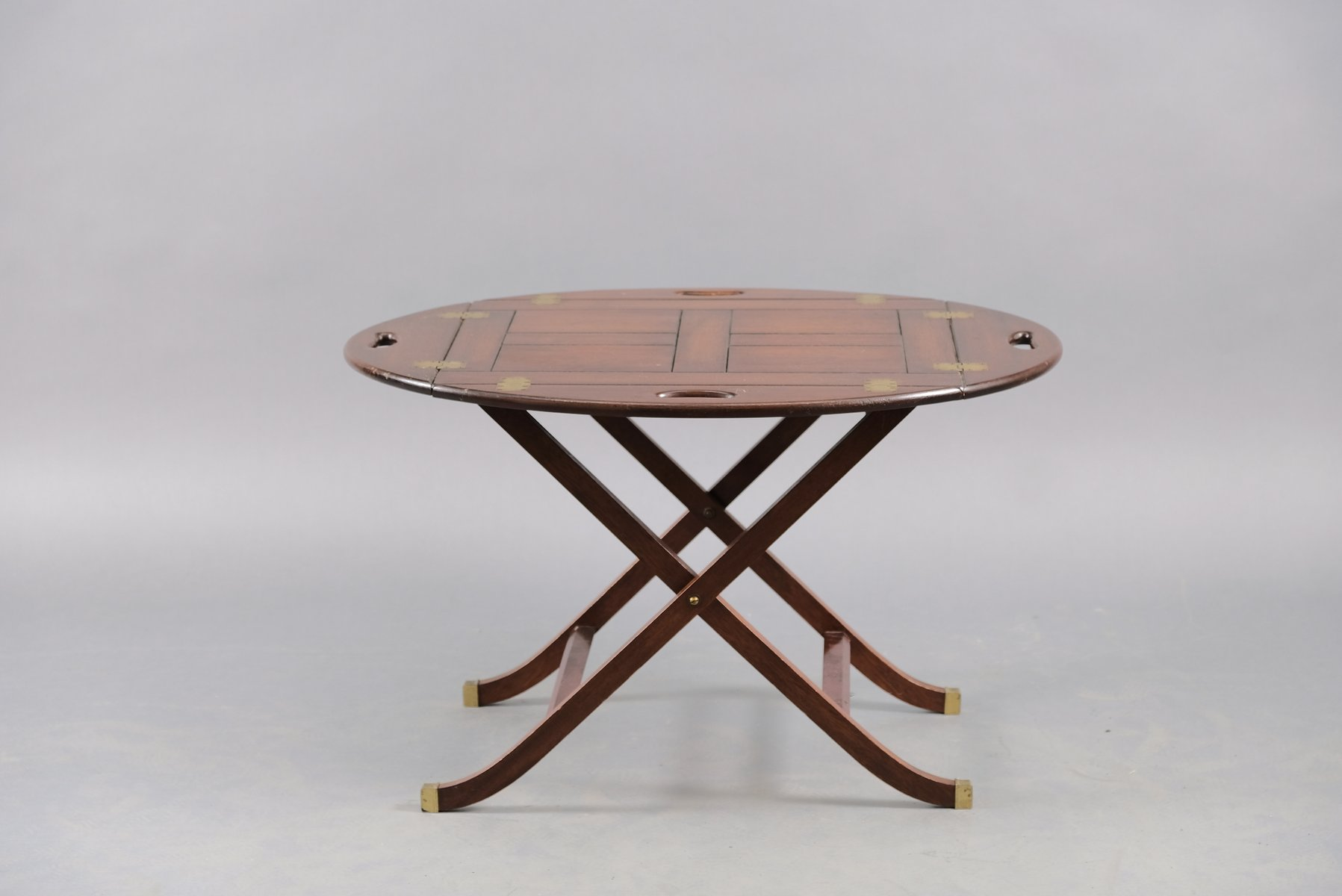 Vintage English Folding Coffee Table