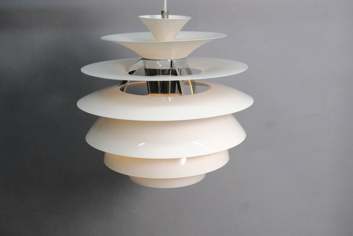 Vintage Snowball Ceiling Lamp by Poul Henningsen for Louis Poulsen