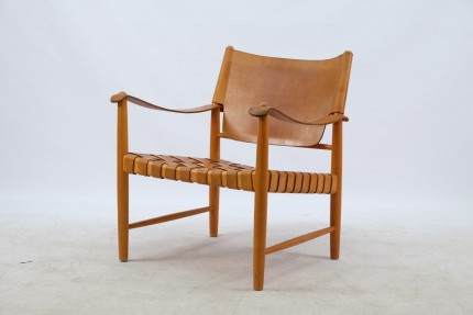 Mid-Century Safari Sessel, 2er Set